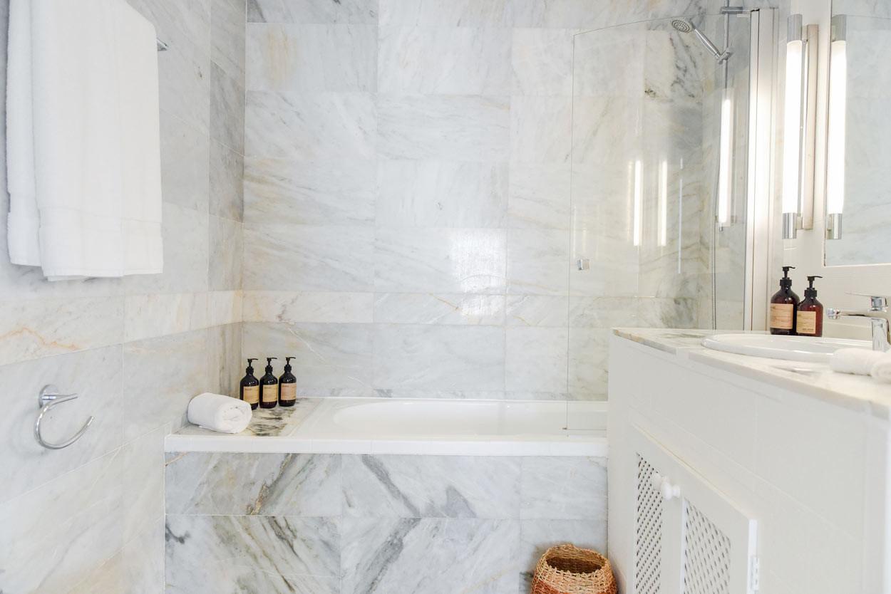 Fresh and clean bathroom
