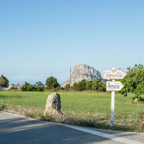 Petunia Ibiza Hotel - Directions To Petunia And La Mesa