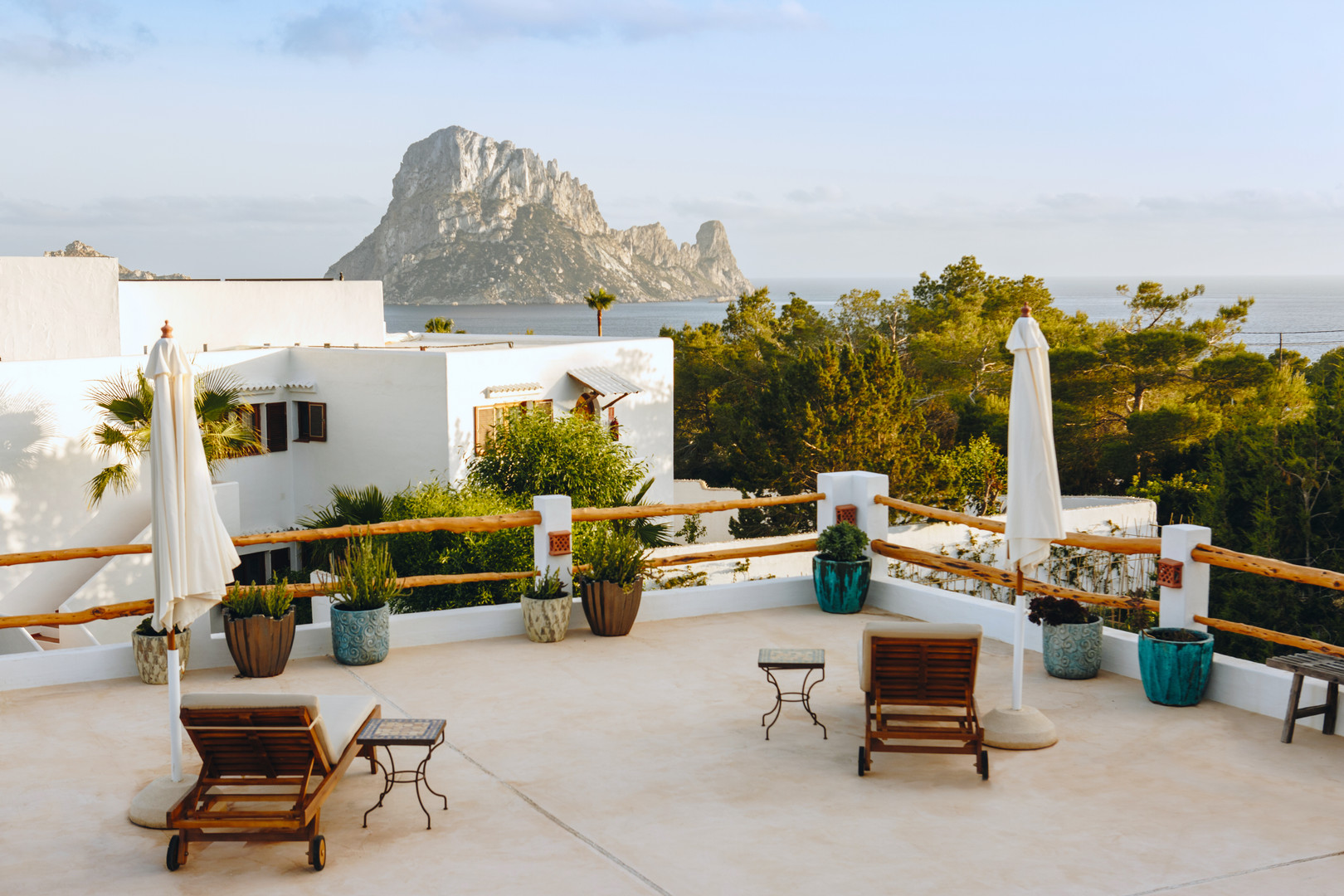 Shared Terrace With Es Vedra Views