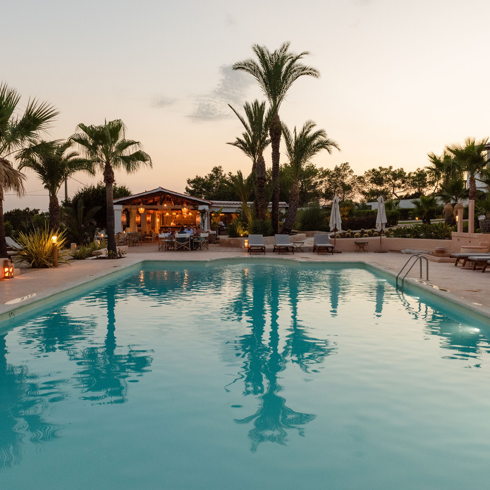 Petunia Ibiza Hotel - Pool And The Wood Oven