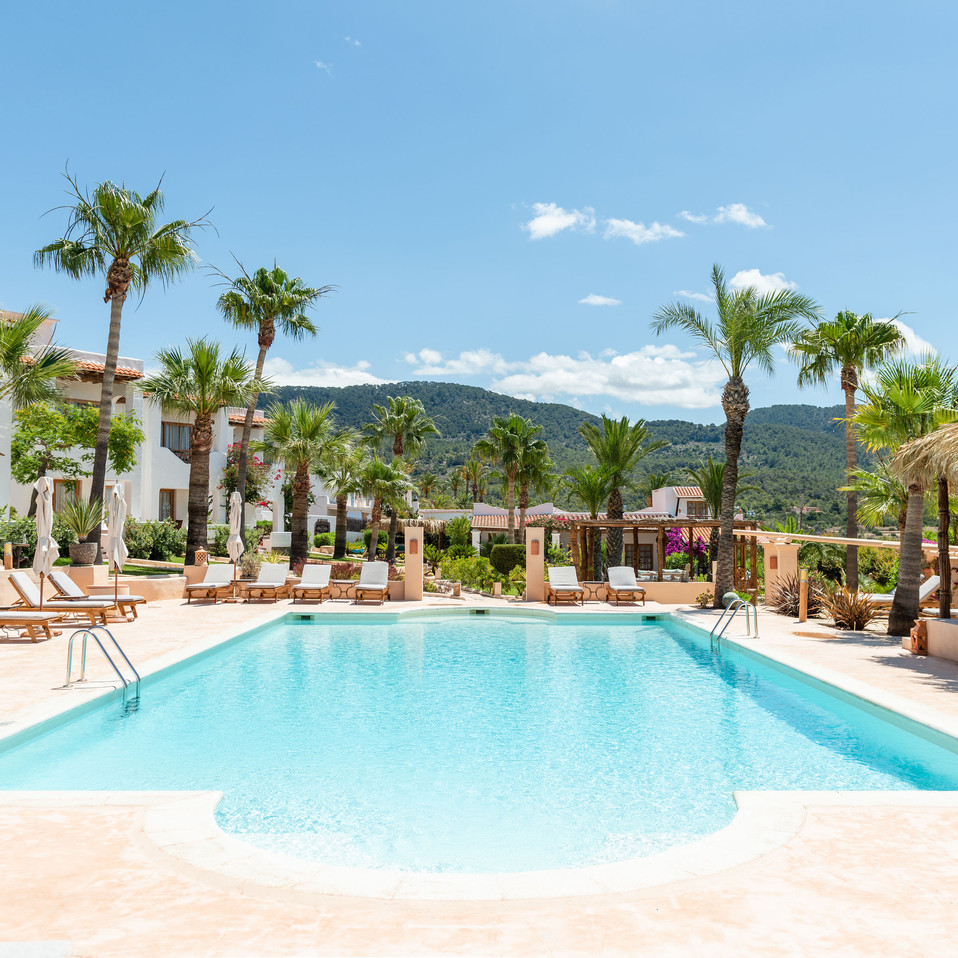 Petunia Ibiza Hotel - Pool Area
