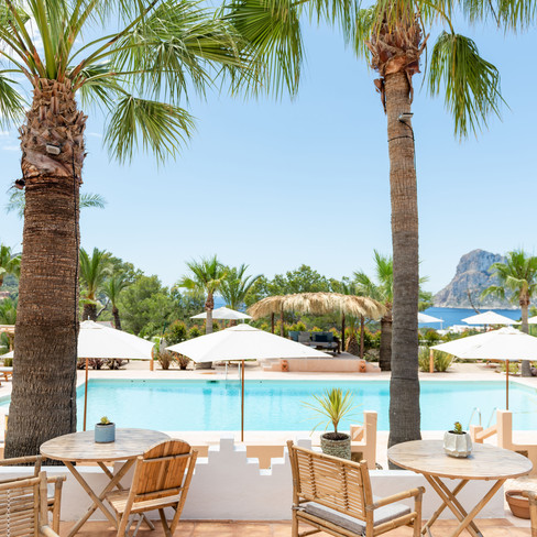 Petunia Ibiza Hotel - Lunch By The Pool