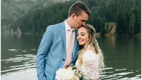 Emily + Brandon's First Look