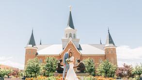 Provo City Center Temple – Emily + Brandon's Wedding day
