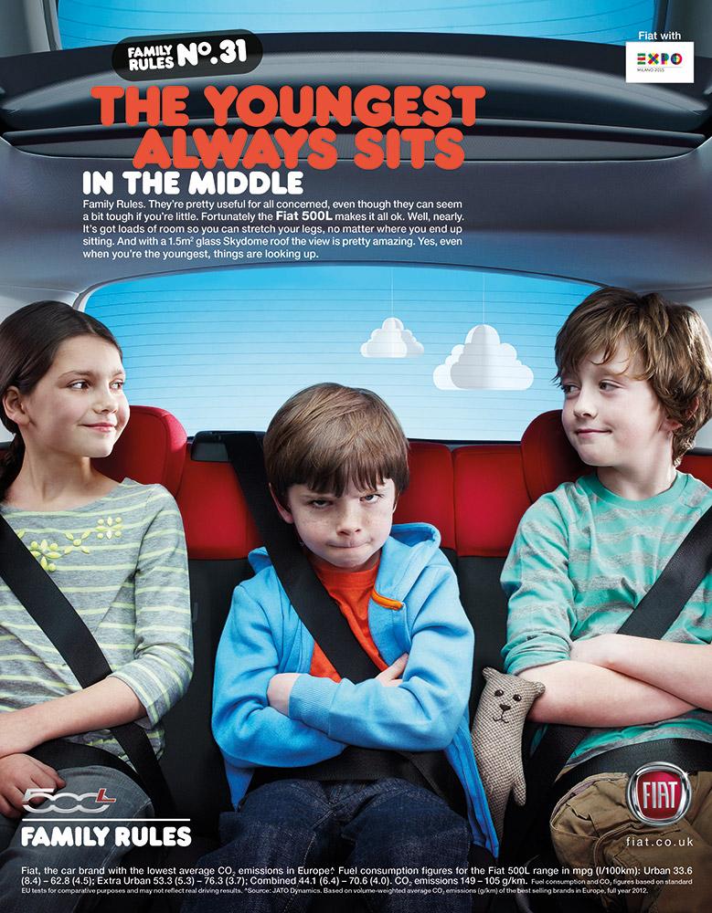 Fiat 500L Campaign