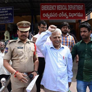 INDIA - Varavara Rao and other interlectuals arrested under henious charges