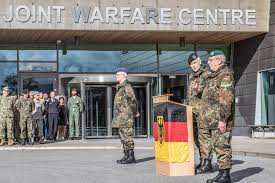 Bundeswehr holds a speech at Jåttå