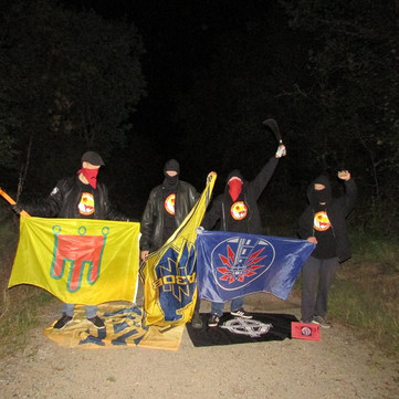 """FRANCE - Militant action against """"Bastion Social"""" in Clermont Ferrand"""