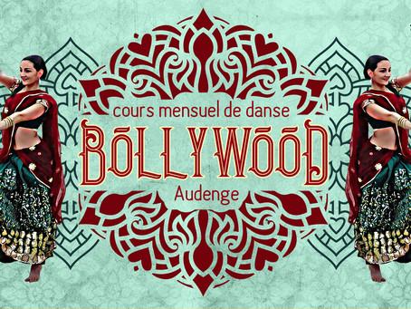 Nouveau! un cours mensuel de Bollywood!