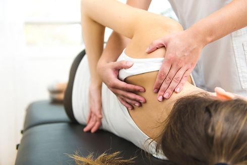 A Modern rehabilitation physiotherapist