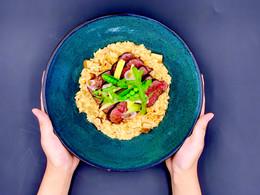 豆豆腐乳炖饭 Chinese Style Risotto
