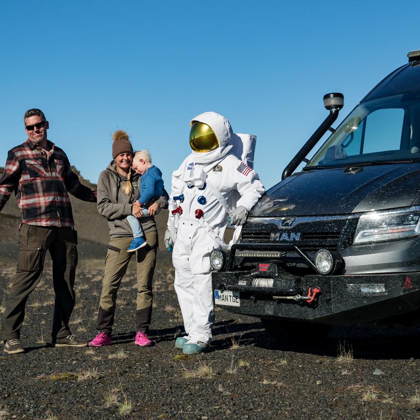 Max Hunt NASA MAN TGE