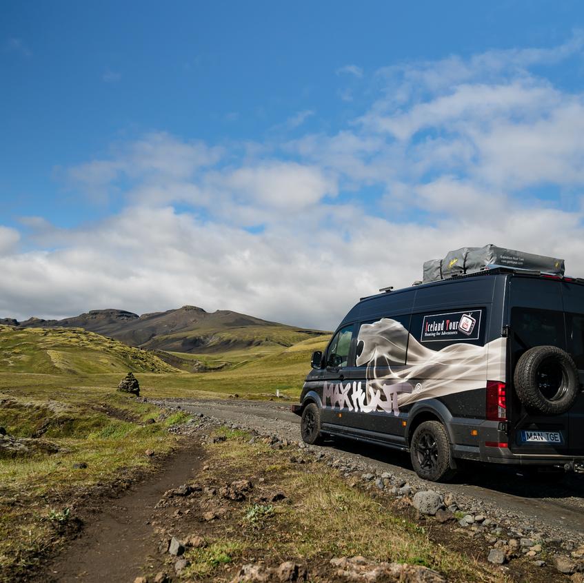 MAx Hunt MAN TGE Iceland