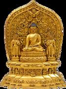Старинная будда