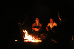 Campfire storytelling