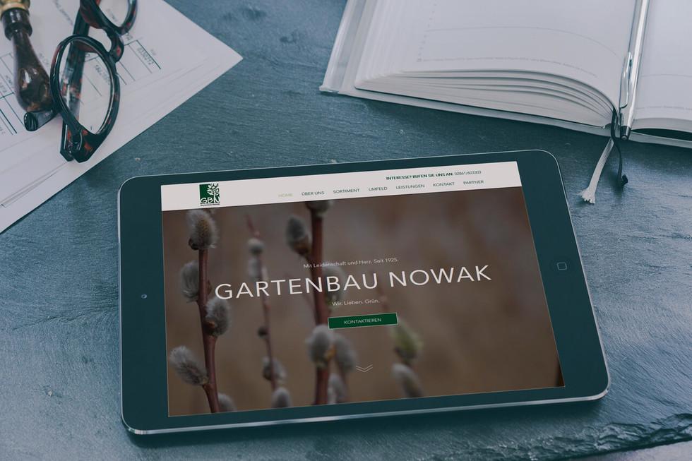 GARTENBAU NOWAK