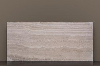 alabastrino filled&honed travertine vein-cut slab