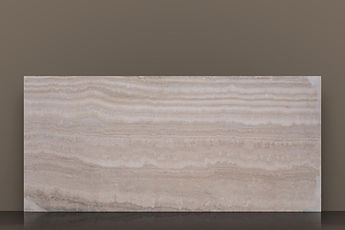 Alabastrino Filled&Honed Travertine Vein-Cut Slab