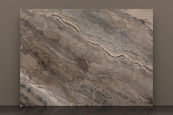 Bronze Illusion Polished Marble Slab