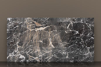 grey cehegin polished marble slab