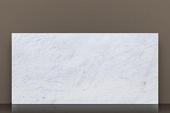 bianco carrara gioia polished marble slab