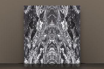 Mandala Leathered Granite Bookmatched Slab
