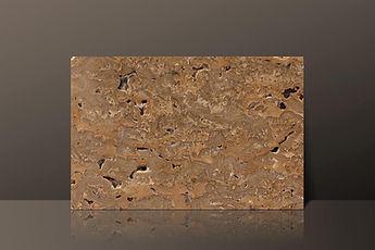 Geoagiu Brown Polished Travertine Tile