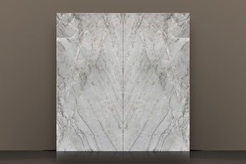 vancouver bookmatched polished quartzite slab