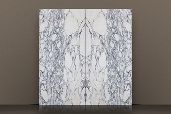 Arabescato Corchia Polished Marble Bookmatched Slab