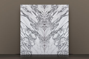 arabescato vagli polished marble bookmatched slab