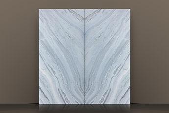 Pegasus Polished Marble Backlit Bookmatched Slab