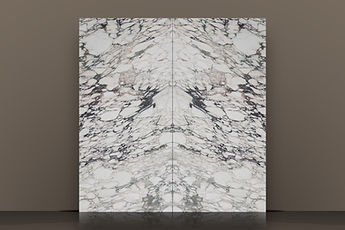 Calacatta Viola Monet Polished Marble Bookmatched Slab