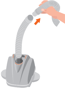 Important change in Hose design & connection. (4 ft  hose Universal hose)