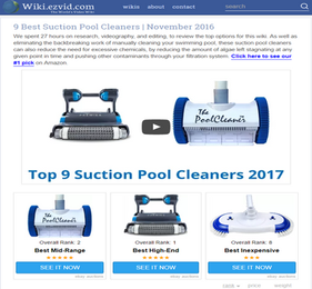SkimmerMotion chosen for the Top 9 Suction Pool Cleaners of 2016