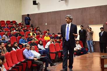 Interaction with students at IIM Udaipur