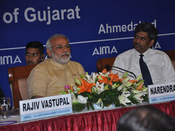 In Ahmedabad with PM Modi
