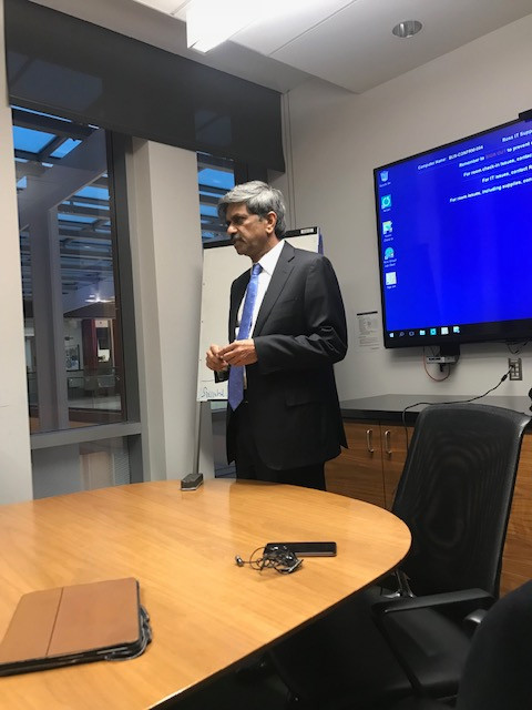 Special Guest Lecture and Interaction with Student At The Ross School of Business