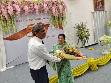 ABG 50 Years Celebration In Thailand With Mrs Rajashree Birla