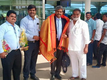 With My Old Unilever Distributor - Mastan Bhai in Vijaywada