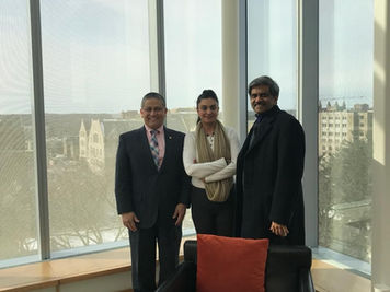 Ravi Pendse and Sujatha Duvvuri At The Ross School of Business