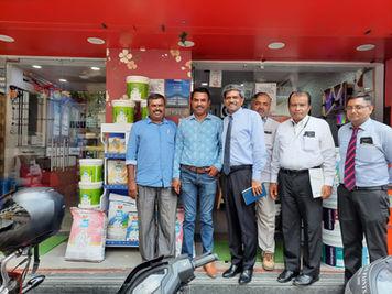 Market Visit with The Birla White Team