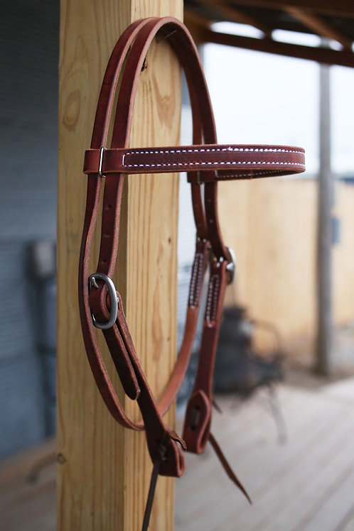 Browband Headstall - Silver