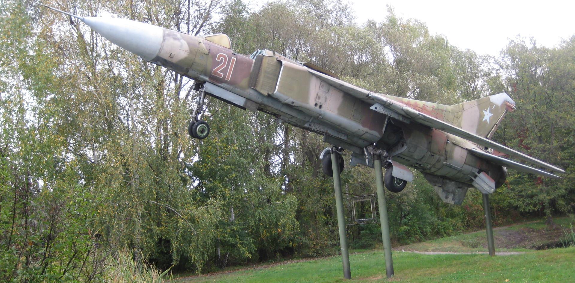 Im Park der Kreisstadt Snowsk - 2010