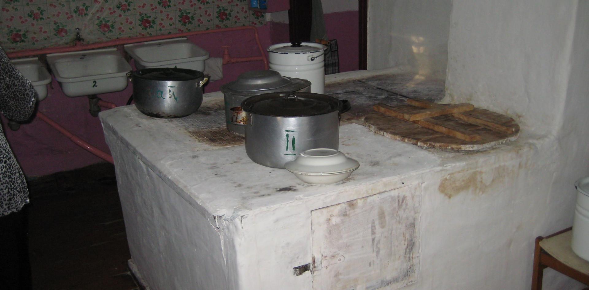 Küche im Altersheim in Snowsk - 2010