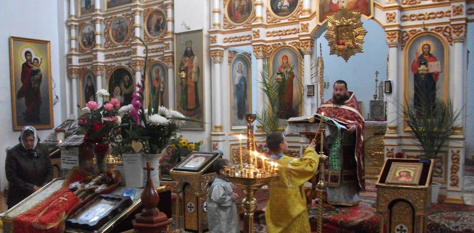Einweihung der russisch-orthodoxe Kirchen in Snowsk - 2010