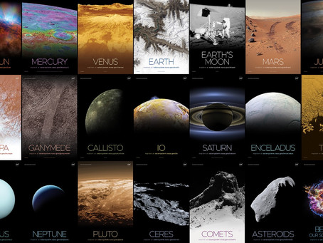 Free Resource: Stunning Solar System Posters