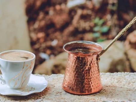 Making Arabic Coffee