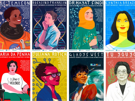 Download Beautiful Free Posters Of Leading Female Scientists