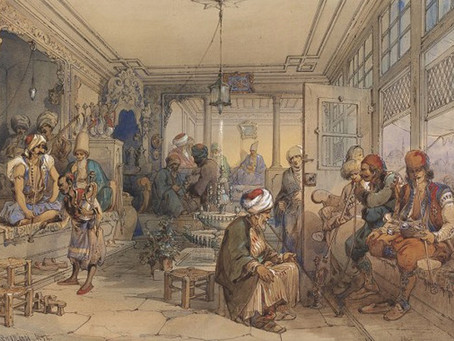 """Coffee, The """"Wine Of Islam,"""" And The Sometimes Revolutionary History Of Coffeehouses"""