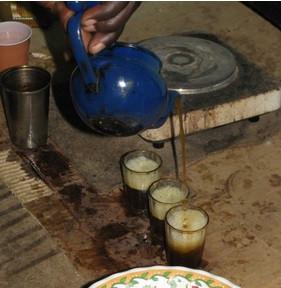 Making 'Senegalese Tea': Attaya